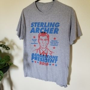 Loot Crate Archer for President Tee